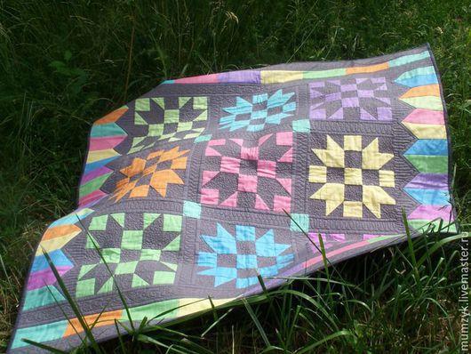 """Текстиль, ковры ручной работы. Ярмарка Мастеров - ручная работа. Купить Лоскутное одеяло """"Фольклорное"""". Handmade. Комбинированный, Квилтинг и пэчворк"""