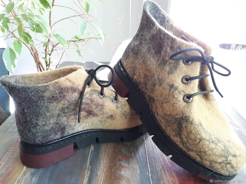 b703cea97 Обувь ручной работы. Ярмарка Мастеров - ручная работа. Купить Ботинки  валяные