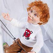 Куклы и игрушки ручной работы. Ярмарка Мастеров - ручная работа Рыжее счастье. Handmade.