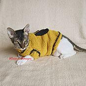 handmade. Livemaster - original item Sweater for a pet