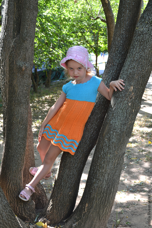 Оранжевое платье с доставкой