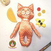 Куклы и игрушки ручной работы. Ярмарка Мастеров - ручная работа Апельсиновый котэ. Handmade.