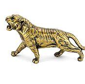 Для дома и интерьера handmade. Livemaster - original item Tiger big, figurine, interior decoration, gift, souvenir. Handmade.