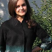 """Одежда ручной работы. Ярмарка Мастеров - ручная работа Жакет """"Акварель"""". Handmade."""