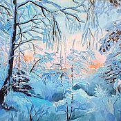 Картины и панно ручной работы. Ярмарка Мастеров - ручная работа Хрустальная зима.. Handmade.