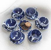 Куклы и игрушки ручной работы. Ярмарка Мастеров - ручная работа Кукольный чайный сервиз. Handmade.
