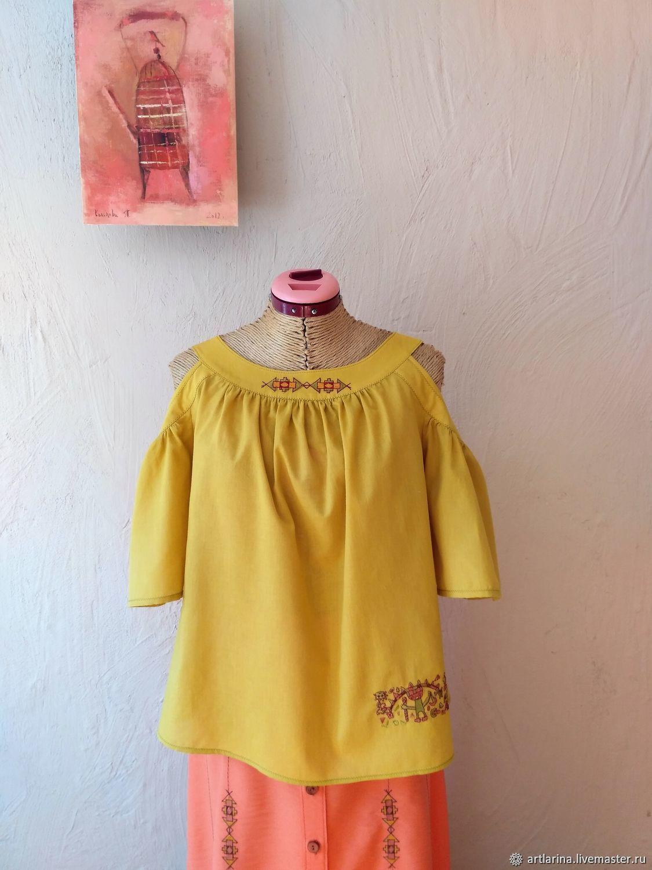 blouse: ' The Aztecs', Blouses, Zarechny,  Фото №1