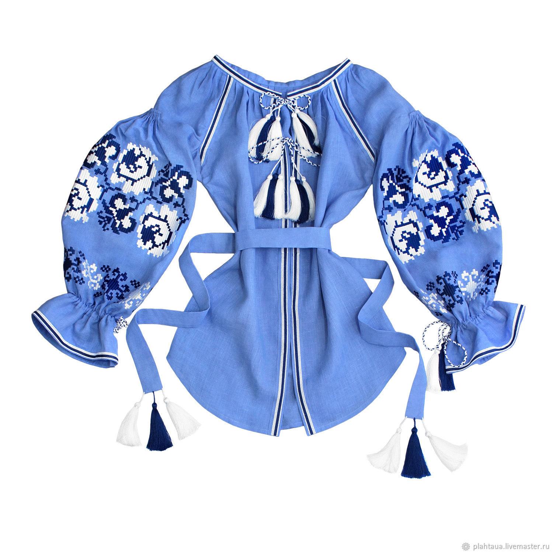 """Блуза с вышивкой """"Хрустальные Розы"""", Blouses, Kiev,  Фото №1"""