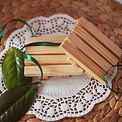 Для дома и интерьера handmade. Livemaster - original item Natural wood wooden soap dish pine handmade ECO-house. Handmade.