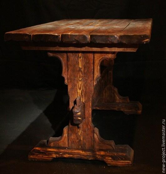 Экстерьер и дача ручной работы. Ярмарка Мастеров - ручная работа. Купить Стол в стиле кантри. Handmade. Разноцветный, стол в беседку