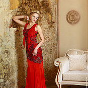 """Одежда ручной работы. Ярмарка Мастеров - ручная работа """" Виктория"""" женское платье. Handmade."""