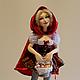 Коллекционные куклы ручной работы. Ярмарка Мастеров - ручная работа. Купить Красная Шапочка. Handmade. Разноцветный, коллекционная кукла