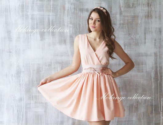 """Платья ручной работы. Ярмарка Мастеров - ручная работа. Купить Платье """"Нежность"""". Handmade. Кремовый, Платье нарядное, платье на выход"""