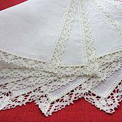 Для дома и интерьера handmade. Livemaster - original item Set linen napkins