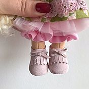 Одежда для кукол ручной работы. Ярмарка Мастеров - ручная работа Мокасины замша 190. Handmade.