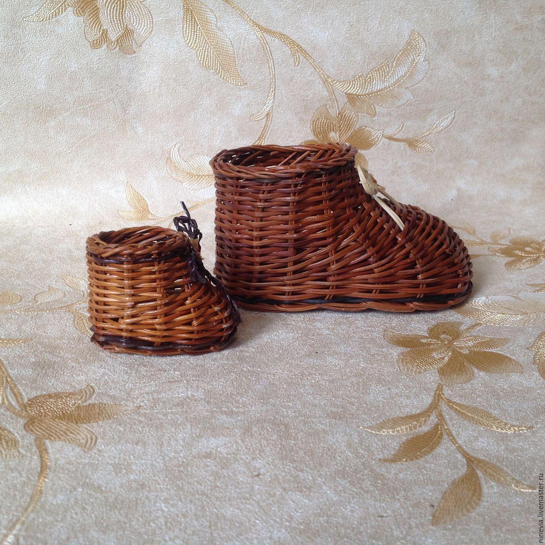 Кашпо плетеное-3 размера, Корзины, Москва, Фото №1