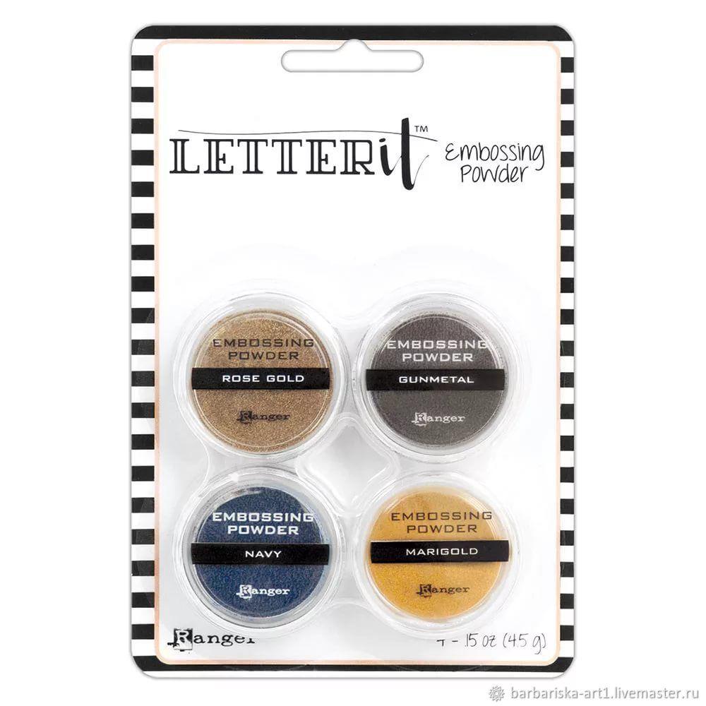 Набор пудры для эмбоссинга Letter It METALLICS, Материалы, Смоленск, Фото №1