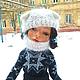 Коллекционные куклы ручной работы. Авторская кукла `Юлька фигуристка` - кукла на коньках. Купить куклу. Елисеева Алена  Ярмарка Мастеров