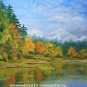 Картины и панно ручной работы. Ярмарка Мастеров - ручная работа Картина «Осень». Handmade.