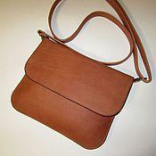 Сумки и аксессуары handmade. Livemaster - original item A handbag made of matte red pul-ap. Handbag envelope clutch bag.. Handmade.