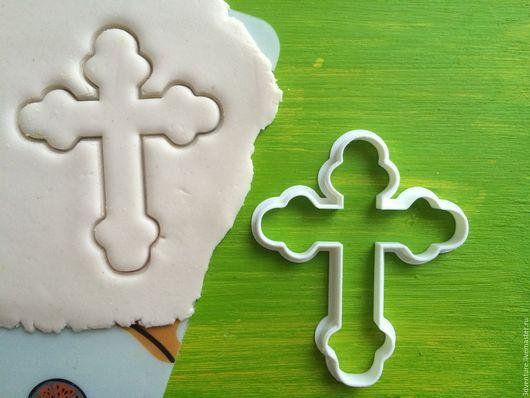 Кухня ручной работы. Ярмарка Мастеров - ручная работа. Купить Форма для печенья Крест. Handmade. Разноцветный, формочка для печенья