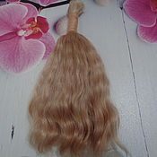 Волосы для кукол ручной работы. Ярмарка Мастеров - ручная работа Волосы для кукол: локоны,кудри. Handmade.