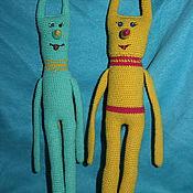 Мягкие игрушки ручной работы. Ярмарка Мастеров - ручная работа Высокие монстрики. Handmade.