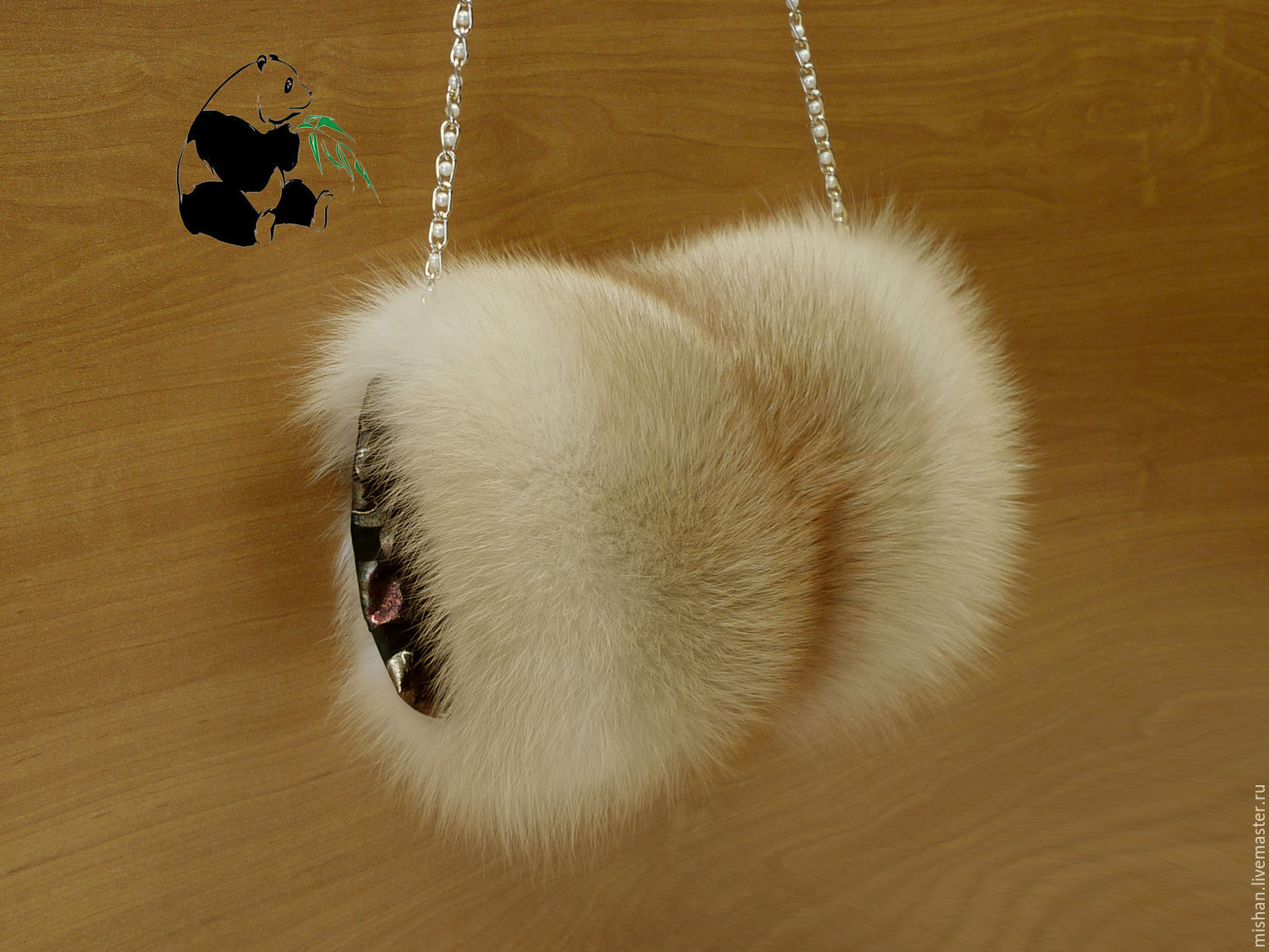 Fur clutch bag from the fur of the red Fox. Stylish ladies accessory, Clutch, Ekaterinburg,  Фото №1