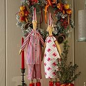 Куклы и игрушки ручной работы. Ярмарка Мастеров - ручная работа Пижамная парочка. Handmade.