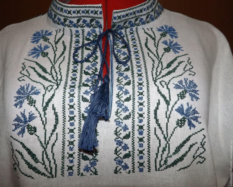 Женская вышиванка   ЖР2-093, Блузки, Темрюк, Фото №1