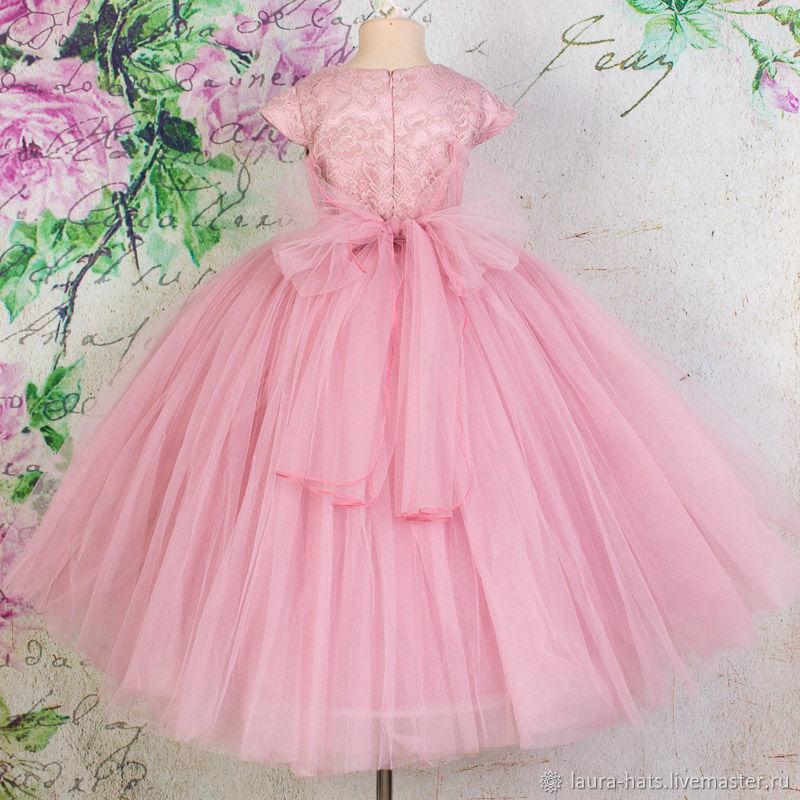 Нарядное платье для девочки на выпускной Детское бальное платье