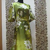 "Dresses handmade. Livemaster - original item Авторское платье ""Gold Magnolia"". Handmade."