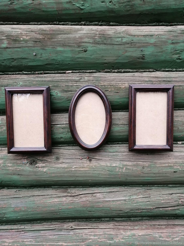 Овальные, круглые и квадратные рамки из массива дерева, Фоторамки, Александров,  Фото №1