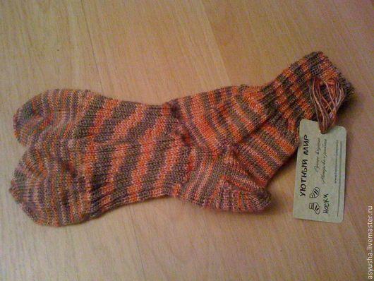 Носки, Чулки ручной работы. Ярмарка Мастеров - ручная работа. Купить носки ручной работы (шерсть). Handmade. Шерстяные носки