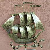 корабль кронштейн  для  подвесного кашпо