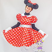 Одежда handmade. Livemaster - original item Minnie Mouse (classic). Scenic suit/Cosplay/Carnival costume. Handmade.
