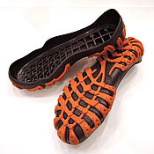Материалы для творчества ручной работы. Ярмарка Мастеров - ручная работа Подошва детская №10 для уличной обуви размеры от 20 до 30. Handmade.