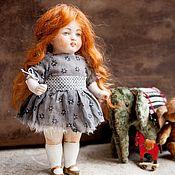 Куклы и игрушки ручной работы. Ярмарка Мастеров - ручная работа Антикварная фарфоровая куколка Преображение. Handmade.