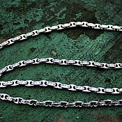 Украшения handmade. Livemaster - original item Men`s chain 925 silver cast. Handmade.