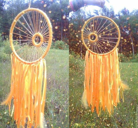 Ловец снов `Луч солнца золотого...` - блики солнца