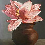 Картины и панно handmade. Livemaster - original item Picture: Buddha Flower.. Handmade.