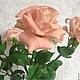 Цветы ручной работы. Роза чайная. Алла Даниленко. Ярмарка Мастеров. Розы из полимерной глины, подарок на 8 марта, интерьер