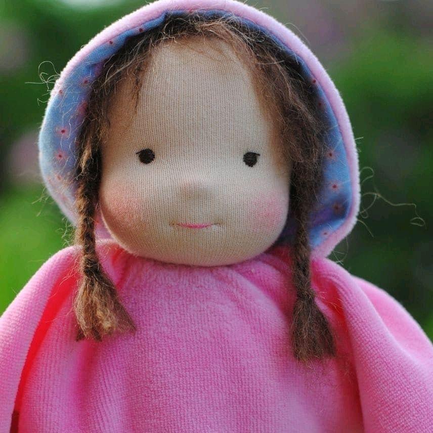 Вальдорфская кукла - бабочка, Вальдорфская игрушка, Москва, Фото №1