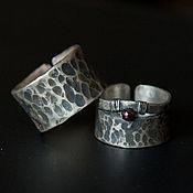 Свадебный салон ручной работы. Ярмарка Мастеров - ручная работа Обручальные кольца с патиной. Handmade.
