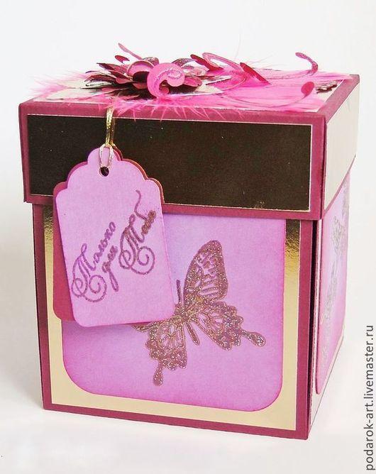 Подарочная упаковка ручной работы. Ярмарка Мастеров - ручная работа. Купить Коробочка для подарка. Handmade. Упаковка для подарка, упаковка для украшений
