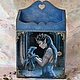 """Прихожая ручной работы. Ярмарка Мастеров - ручная работа. Купить Ключница """"Таинственный замок"""". Handmade. Дракон, тёмно-синий"""