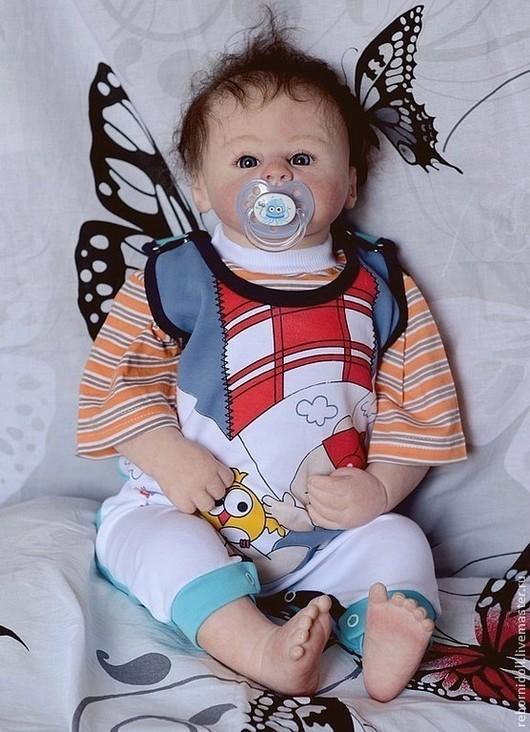Куклы-младенцы и reborn ручной работы. Ярмарка Мастеров - ручная работа. Купить Мальчик реборн Алешка. Handmade. Кукла реборн