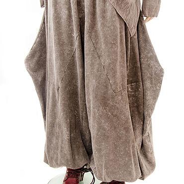 Одежда ручной работы. Ярмарка Мастеров - ручная работа Бохо трузера Летучая мышь для леди плюс сайз необычное решение мягко. Handmade.