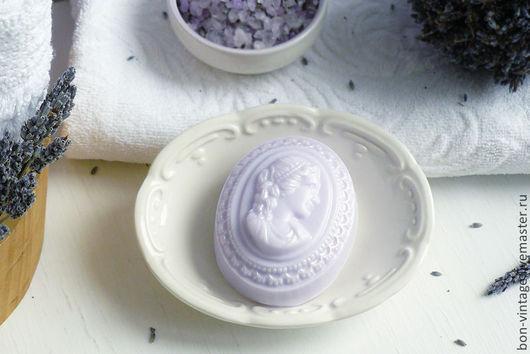 Мыло ручной работы. Ярмарка Мастеров - ручная работа. Купить Лаванда - глицериновое мыло. Handmade. Бледно-сиреневый, лавандовый