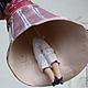 Колокольчик Дамочка под зонтиком. Колокольчики. Ярослава Зуйкина. Керамика. Ярмарка Мастеров. Фото №5